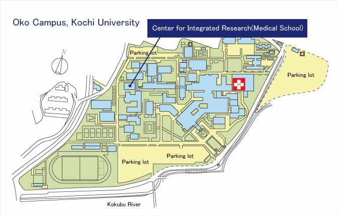 Ku Med Campus Map.Access Maps Espo Ku Equipment Support Planning Office Kochi University