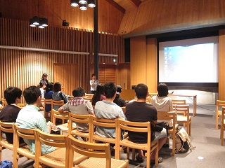 """Joint Seminar Exchange Meeting for International Students and Japanese Students"" Held."